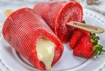 Delícias Geladas / O Blog do Bom Gosto é referência em sorvetes! Confira como se faz paletas mexicanas, sacolés/geladinhos/din-dins e milkshakes com muito estilo!