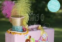 Kit Circo Niñas Imprimible / Printable Girl´s Circus party