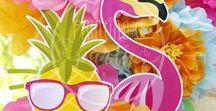 Kit Flamencos y Ananás Imprimible / Printable Flamingo & Pineapple Party