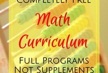 Homeschool Math / A collection of games, free printables and recommended reading lists to make learning math fun.