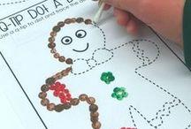 Christmas Printables & Book Lists / Christmas printables, school, learning, and book lists!