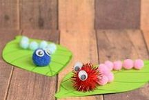 Caterpillar Crafts for Kids / Letter of the Week C is for Caterpillar Crafts for Kids.