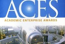 Oledcomm finaliste des ACES 2013 / La cérémonie de remise des prix s'est déroulée au Parlement européen à Bruxelles le 4 juin. Les ACES (Academic Entreprise Awards) récompensent les entreprises européennes issues des universités et instituts de recherche publics. OLEDCOMM a été choisi comme finaliste de la section TIC et a reçu le deuxième prix. Suat Topsu,  PDG de OLEDCOMM, a présenté l'entreprise et la technologie LiFi lors de la séance plénière.
