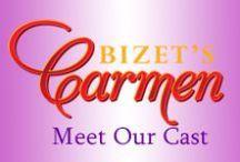 """Carmen 2014 - Cast / Our cast for this season's production of Bizet's """"Carmen."""""""