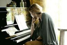 piano & music / by BAHAR SEZEN