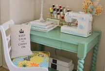 Kleines Nähreich    small sewing spaces