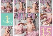 Smash the Cake / Smash the cake photography most used for celebrating a baby having their 1st birthday - turning one is so much fun!