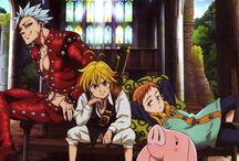 Nanatsu no taizai / Anime: Nanatsu no taizai (The seven deadly sins)