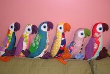 DIY Stofftiere  / soft toys, animals......