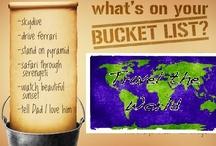 Bucket List / by Adrienne Reddan