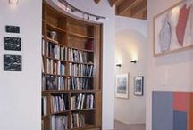 Interesting Books & Libraries / Bookcases, Libraries, Reading Nooks, Books