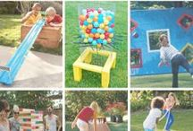 Outdoor Games for Kids / Creative ways to have fun outside with your kids / by The Measured Mom