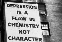 """Depression / Depression is a serious medical illness; it's not something that you have made up in your head. It's more than just feeling """"down in the dumps"""" or """"blue"""" for a few days. It's feeling """"down"""" and """"low"""" and """"hopeless"""" for weeks at a time."""