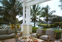The great outdoors / Living spaces outdoors  / by Cindy