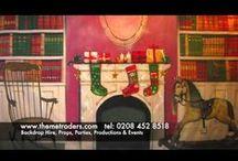 backdrops / backdrops and backdrop hire and backdrop making