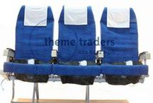 airline seats / airline seats aeroplane seats, airplane seats and props