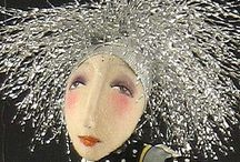 Art Dolls... / Inspiration For New Creations! / by Nancy Travis