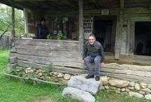 """Jean-Marc Olry of France, the winner of RRI's Contest """"A Contemporary of Brancusi: Milita Petrascu"""" / Jean-Marc Olry of France, the winner of the Grand Prize of RRI's Contest """"A Contemporary of Brancusi: Milita Petrascu"""", in his trip in Gorj County and at Radio Romania International's French Section"""