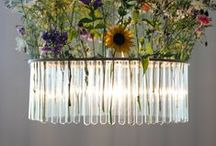 Beautiful Lighting Planters / Combining plants and lighting in one fixture.
