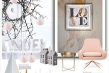 DECOR MOOD BOARDS / DESIGN INSPIRATION