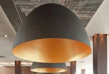 Beautiful Pop Scale Giant Pendant Lights / Large Circles, Super Sized Lighting Fixtures, Pop Scale Lighting, Giant Pendants, Over-sized Pendants, Large Half Domes, for additional domes see my Beautiful Pendant Domes.