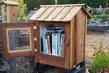 Interesting Little Free Library / Little Free Library, Tiny Library, Community Library, Encourage Reading