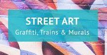 Street art / Streetart rund um den Globus! Auf diesem Board gibt es Murals, Graffiti und Malereien auf Wänden aus der ganzen Welt. Meine Artikel findest du auch auf goingvagabond.de