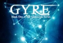 GYRE (AL1) / A reluctant Navy engineering prodigy and fledgling archaeologist must team up to stop the mythical Lemurians from using a research station as a weapon to destroy the lost city of Atlantis. https://www.goodreads.com/book/show/25651058-gyre