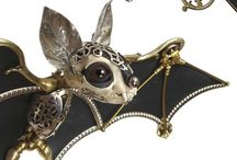 STEAMPUNK ANIMALS and OTHER FIGURINES