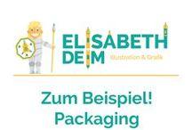 Zum Beispiel! Packaging Illustration / Anwendungsbeispiele der Illustration im Bereich Packaging für Food & Beverage, Spielzeug, Papeterie,...