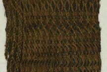 språng headcoverings / språng is plaiting on stretched threads