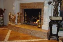 fireplaces / ForeverMarble