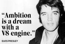 Elvis Quotes / Find your favorite quote and share with fellow Elvis fans!
