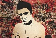 Elvis Art & Designs / Fans continue to carry on the legacy of Elvis with creative artwork and yes even tattoos!