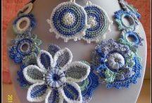 Háčkování  -  šperky