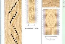 Pletení - vzory, popisy