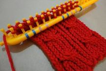 "tricotin/ knitting loom / more video knitting loom: see board ""knit loom video BIS"" / by a m"