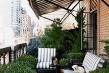 Balkon, terasa, veranda
