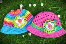 Summer Hats / Handmade, 100% cotton summer hats for people big and small!