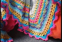Shawls / Rug up warm with a shawl pattern from The Little Bee :)