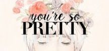 You're So Pretty / The best fashion & lifestyle tips and tricks for women everywhere. It's not just a look, it's a lifestyle.  http://youresopretty.com/
