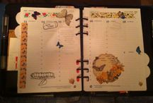 My planner pages of 2015 / Here I post my planner pages, some are with a theme of a Dutch group of Filofaxers I follow on Facebook.