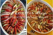 Légumes qui donnent envie / Recettes light légères,  régime,  allégé,  weigh watcher légumes faciles rapides, maigrir