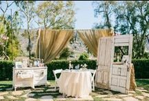 Styled Wedding & Party Rentals / Belle of the Ball Designs offers unique antique and vintage wedding and party rentals!  Visit belleoftheballdesigns.com and click rentals to see more!