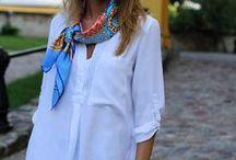 scarf bandana / #スカーフ #バンダナ #アレンジ #fashion #ファッション #women #レディース #OOTD #style #outfit #outfits #coordinate #コーディネート #コーデ #ponte #ponte_fashion