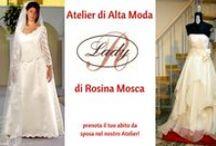 Napoli - Alta Moda Sposa Lady R di Rosina Mosca / #Atelier #abitidaSposa #AltaModa #fashion #MadeinItaly #LadyR di #RosinaMosca #prenota e indossa presso #Atelier Lady R #sartoria in #Napoli - abiti creati artigianalmente e pronti in 10 giorni dalla richiesta