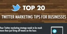 Twitter Inspiration / Some inspiring infographics with Twitter marketing tips and articles. Online marketing at its best!