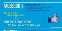 Social Media Inspiration / Some really useful tips about social media marketing on Facebook, Linkedin, Pinterest, Instagram, Twitter or Google+.