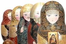 Dolls and Puppets / by Sofia Atmatzidou-Eulgem