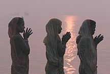 """033. Of flowing rivers ....... / """"of flowing rivers I am the Ganges"""" Bhagavad Gita 10.31"""